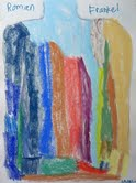 "Untitled by Roman F, 2012. Pastel on Fabriano paper, 24"" x 36"""