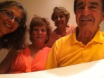 Bodyscapes participants Enrica & Dr. Peter Sciarretta, Mrs. Antonietta Sciarretta, my mom, and myself, 2013