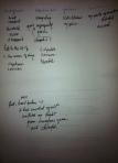 PTSD prose poetry worksheet #2. November, 2013