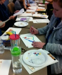 Bodyscapes Drawing Activity component during Riley Hospital presentation, October 2014