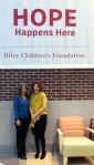 Diane and Mary Crevey, Founder of The Red & Orange House  with Mary Crevey, Foundation Officer, Riley Children's Foundation