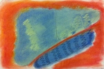 """pastel on Fabriano paper, 8""""x 10"""", 2014"""