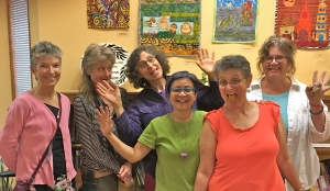 Bodyscapes Healing Art Workshops--Year 2--at WCRC in Oakland