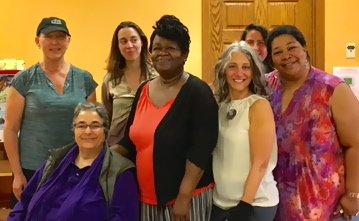 Christine Cahill, Nava Mizrahhi, Maria Lentzou, Demetrice Thompson, Diane Sciaretta, Stephanie , Margo Salem